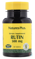 Rutin, Nature's Plus, 500 mg, 60 Tablets