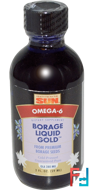 Borage Liquid Gold, Health From The Sun, 2 fl oz (59 ml)