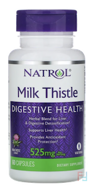 Milk Thistle Advantage, 525 mg, Natrol, 60 Veggie Caps