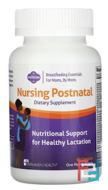 Nursing Postnatal Breastfeeding Multivitamin, Fairhaven Health, 60 Capsules