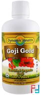 Goji Gold, Dynamic Health Laboratories, 32 fl oz, 946 ml