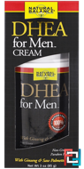 DHEA For Men Cream, Natural Balance, 3 oz (85 g)
