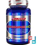 100% Pure Arginine HCI Maximum Strength + Absorption, ALLMAX Nutrition, 3.5 oz, 100 g