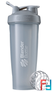 BlenderBottle, Classic With Loop, Pebble Grey, Sundesa, 32 oz