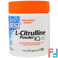 L-Citrulline Powder, Doctor's Best, 200 g