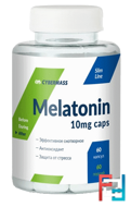 Melatonin, Cybermass, 10 mg, 60 capsules