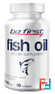 Fish Oil, Be First, 1300 mg, 90 gel capsules