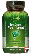 Less-Stress Weight Support, Irwin Naturals, 75 Liquid Soft-Gels