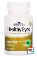 Healthy Eyes, Extra, 21st Century, 36 Tablets
