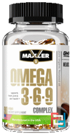 Omega 3-6-9 Complex, Maxler USA®, 1000 mg, 90 Softgels