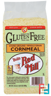 Cornmeal, Gluten Free, Bob's Red Mill, 24 oz (680 g)