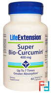 Super Bio-Curcumin, Life Extension, 400 mg, 60 Veggie Caps