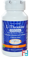 L-Theanine, Stress, Enzymatic Therapy, 100 mg, 60 Veggie Caps