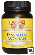 The Essential Woman, Barlean's, 1000 mg, 120 Softgels