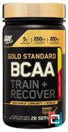 BCAA, Gold Standard, Optimum Nutrition, 280 g