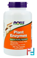 Plant Enzymes, Now Foods, 240 Veg Capsules