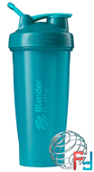 BlenderBottle, Classic With Loop, Teal, Sundesa, 28 oz