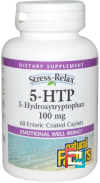 5-HTP, Natural Factors, 100 mg, 60 Enteric Coated Caplets