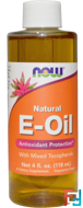 Natural E-Oil, Now Foods, 118 ml