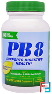 PB8 With Lactobacillus & Bifidobacterium, Nutrition Now, 120 Veggie Caps