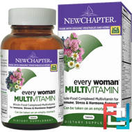 Every Woman Multivitamin, New Chapter, 120 Tablets