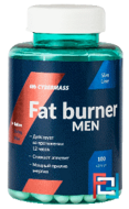 Fat Burner Men, Cybermass, 100 capsules