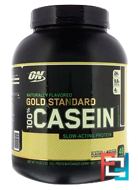 100% Casein Gold Standard Natural, Naturally Flavored, Optimum Nutrition, 4 lb, 1820 g