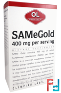 SAMe Gold, 400 mg, Olympian Labs Inc., 30 Enteric Coated Tablets
