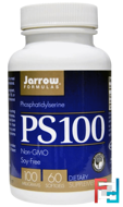 PS 100, Phosphatidylserine, Jarrow Formulas, 100 mg, 60 Softgels