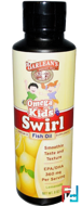 Omega Kid's Swirl, Fish Oil, Lemonade, Barlean's, 8 oz, 227 g