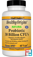 Probiotic, Healthy Origins, 30 Billion CFU's, 60 Vcaps