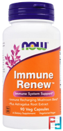 Immune Renew, Now Foods, 90 Veggie Capsules