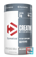 Creatine Micronized, Unflavored, Dymatize Nutrition, 300 g