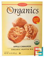 Organic Muffin Mix, Apple Cinnamon, European Gourmet Bakery, 16 oz (453 g)