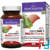 40+ Every Man II Multivitamin, New Chapter, 96 Tablets