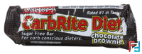 Doctor's CarbRite Diet Bars, Sugar-Free, Universal Nutrition, Chocolate Brownie, 1 Bar * 56.7 g