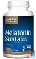 Melatonin Sustain, Jarrow Formulas, 1 mg, 120 Tablets