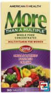 More Than A Multiple, Multivitamin for Women, American Health, 90 Tablets