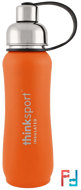 Thinksport, Insulated Sports Bottle, Orange, Think, 17 oz (500ml)