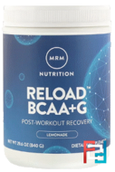 BCAA + G Reload, Post-Workout Recovery, MRM, 29.6 oz, 840 g