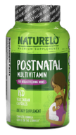 Postnatal Multivitamin for Breastfeeding Moms, NATURELO, 180 Vegetarian Capsules