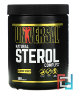 Natural Sterol Complex, Universal Nutrition, 180 Tablets