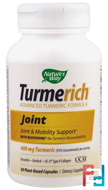Turmerich, Joint, 400 mg, Nature's Way, 60 Plant-Based Capsules