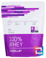 100% Whey, Level Up, 454 g