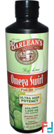 Omega Swirl, Ultra High Potency Fish Oil, Key Lime, Barlean's, 16 oz, 454 g