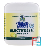 Electrolyte Powder, Celtic Sea Salt, 4.2 oz, 120 g