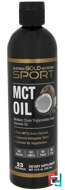 MCT Oil, From Coconut Oil, California Gold Nutrition, 12 fl oz, 355 ml