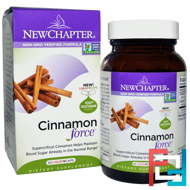 Cinnamon Force, New Chapter, 60 Vegetarian Capsules