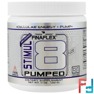 Stimul8 Pumped, Finaflex, Unflavored, 32 g