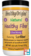 Natural Healthy Fiber, Clear Mixing, Healthy Origins, 7.9 oz (225 g)